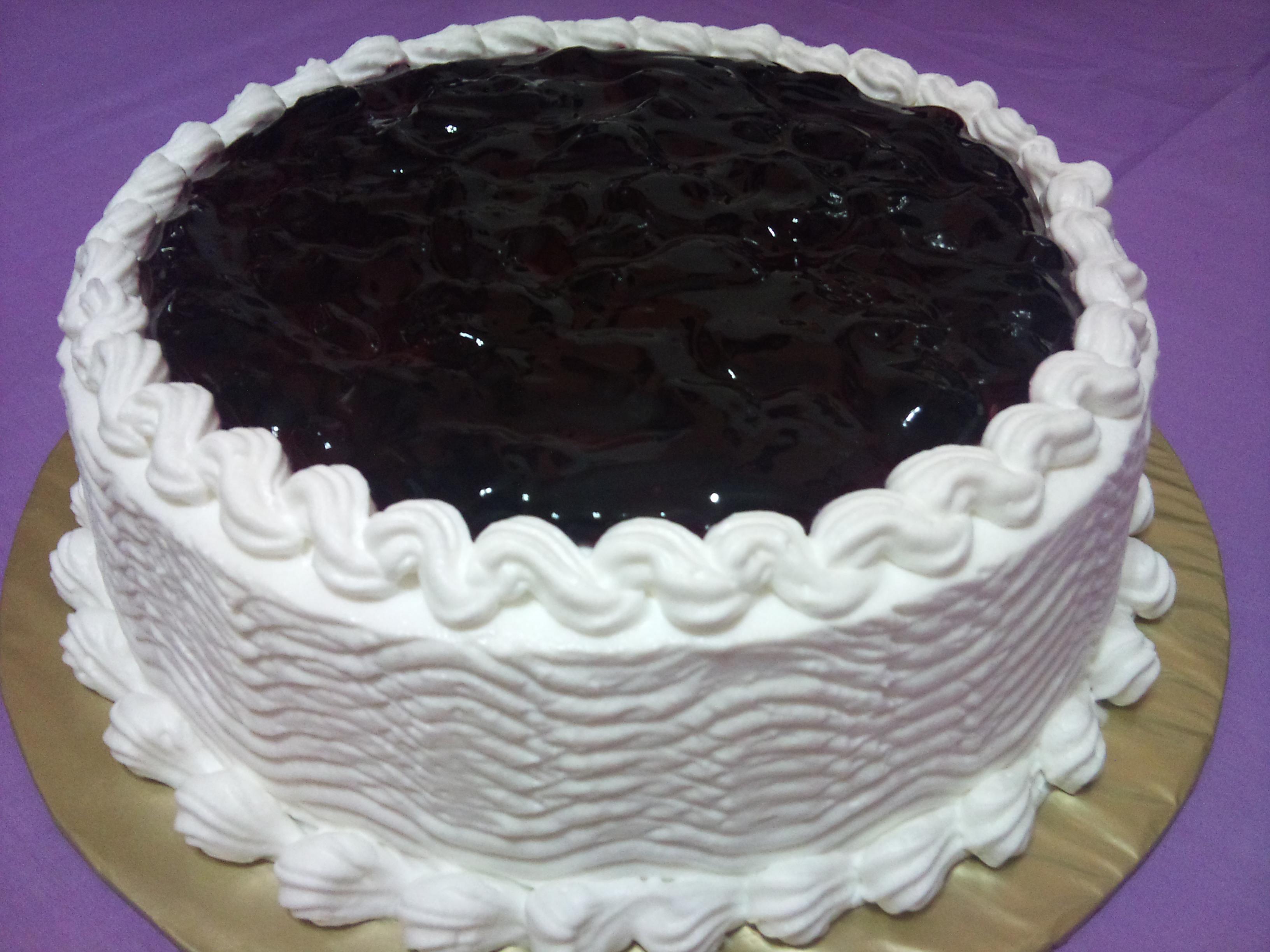 Baking Temptation | Vanilla Blueberries Cake