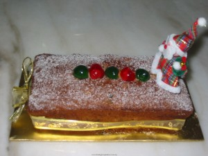 Mixed Fruit Cake with RUM