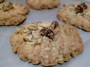 Wheat Germ Walnut Cookie