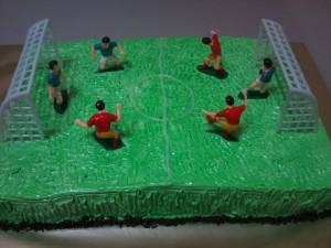 Kids Soccer Cake