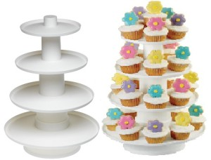 Wilton Stacked Cupcake and Dessert Tower - for rent